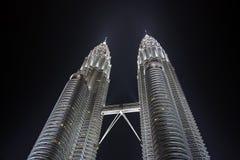 Torrette di Petronas Fotografie Stock Libere da Diritti