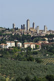 Torrette di San Gimignano Fotografia Stock