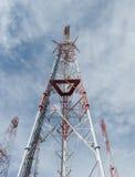 Torrette di telecomunicazione Immagini Stock Libere da Diritti