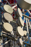 Torrette di telecomunicazioni Immagine Stock Libera da Diritti