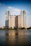 Torrette ed il Nilo Immagine Stock Libera da Diritti
