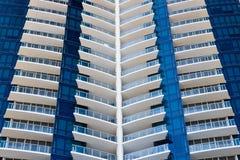 Torrette moderne del condominio Fotografia Stock Libera da Diritti