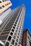 Torrette residenziali di San Francisco fotografia stock libera da diritti