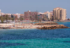 Torrevieja beach Stock Photography