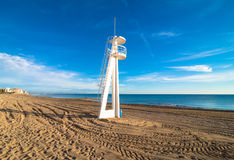 Torrevieja beach Royalty Free Stock Photography