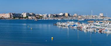 Torrevieja - Blanca de la costa - España Fotografía de archivo libre de regalías