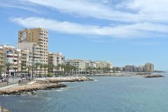 Torrevieja City Royalty Free Stock Photo
