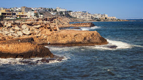 Torrevieja coastline Stock Photo