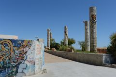 Torrevieja. Embankment  in city Stock Photos