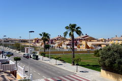 Torrevieja is a Mediterranean city, with a privileged location and the unique climatic conditions Stock Photos