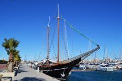 Torrevieja port Fotografia Stock