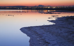 Torrevieja saltworks II Royalty Free Stock Photo