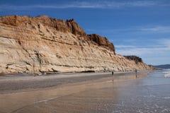 Torrey Beach Kalifornien Arkivfoton
