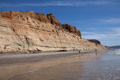 Torrey Beach, la Californie Photos stock