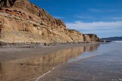 Torrey Beach, la Californie Photographie stock