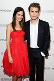 Torrey DeVito and Paul Wesley Stock Images