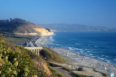 Torrey Pines Beach, California Stock Photos