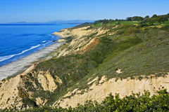 Torrey Pines Golf Course. Above Blacks Beach, La Jolla, California Stock Images