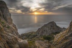 Torrey Pines, San Diego Beach, California Fotografía de archivo libre de regalías