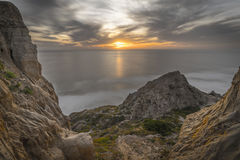 Torrey Pines, San Diego Beach, California Royalty Free Stock Photography