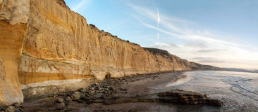 Torrey Pines State Reserve Ocean cliffs Royalty Free Stock Photo