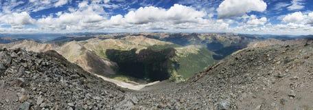 Torreys Peak Summit Panorama Royalty Free Stock Image
