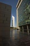 Vista delle torri degli emirati Fotografie Stock Libere da Diritti