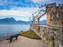 Torri del Benaco castle on Garda Lake