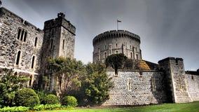 Torri del castello di Windsor, Regno Unito Fotografie Stock Libere da Diritti