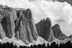 Torri del Sella Royalty Free Stock Image
