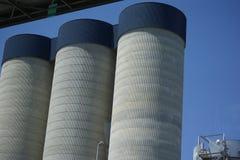 Torri del silo Immagine Stock
