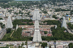 Torri del tempio di Annamalaiyar Immagini Stock