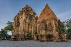Torri del tempio di Ponagar in Nha Trang fotografie stock libere da diritti