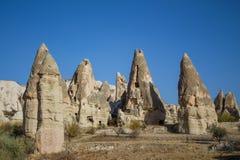 Torri della roccia di Cappadocia Immagine Stock Libera da Diritti