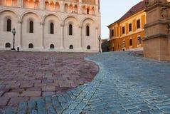 4 torri di chiesa famose, Ungheria Fotografia Stock