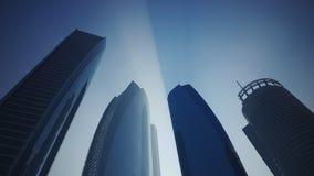 Torri di Etihad, Abu Dhabi, Emirati Arabi Uniti Immagine Stock