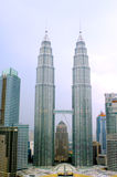 Torri di gemelli di Petronas - Kuala Lumpur Immagine Stock Libera da Diritti