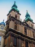 Torri di orologio, Budapest Immagine Stock