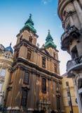 Torri di orologio, Budapest Fotografia Stock