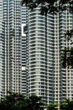 Torri di Petronas Fotografie Stock