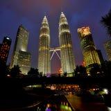 Torri di Petronas Immagini Stock Libere da Diritti