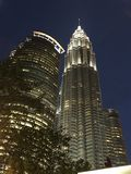 Torri di Petronas Fotografie Stock Libere da Diritti