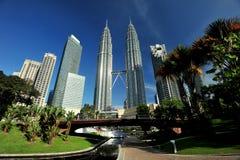 Torri di Petronas Fotografia Stock
