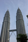 Torri di Petronas Fotografia Stock Libera da Diritti
