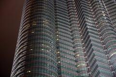 Torri di Petronas, Kuala Lumpur, Malesia Fotografia Stock Libera da Diritti
