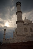 Torri di Taj Mahal fotografia stock libera da diritti