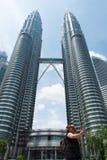Torri gemelle di Petronas Immagini Stock Libere da Diritti