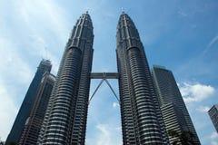 Torri gemelle di Petronas Immagini Stock