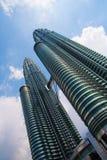 Torri gemelle di Petronas Fotografia Stock