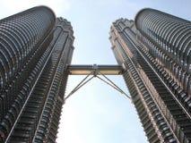 Torri gemelle di Petronas Immagine Stock